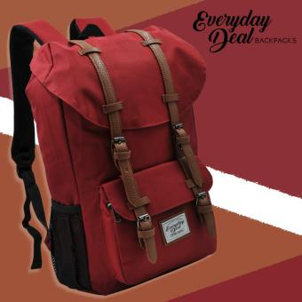 Harga Everyday Deal Travel Laptop Backpack (Maroon)