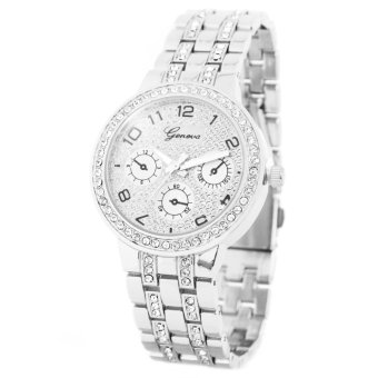 Geneva Marie Women's Silver Stainless Steel Strap Watch BUS028 Price Philippines