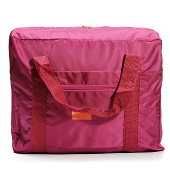 Big Travel Foldable Luggage Bag Clothes Storage Organizer Carry-On Duffle Bag Maroon Fashion Price Philippines