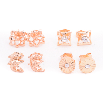 Harga Piedras Paug49 Earrings (Gold)
