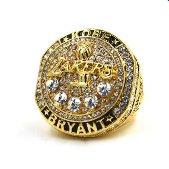 2016 NBA Basketball Lakers Twenty Years Black Mamba Kobe Bryant Retirement Replica Championship Ring for Fans Men Gift - intl Price Philippines