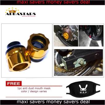 Motorcycle Axle Nut Cover Axel Nut Universal Cap Gold for Yamaha Sniper 150 MXi Price Philippines