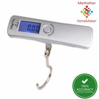 Harga Manhattan Homemaker Accuscale Digital Luggage Scale with Backlight (metal loop)