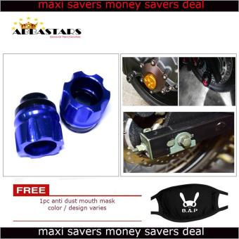 Motorcycle Axle Nut Cover Axel Nut Universal Cap Blue for Suzuki Mola 150 Price Philippines