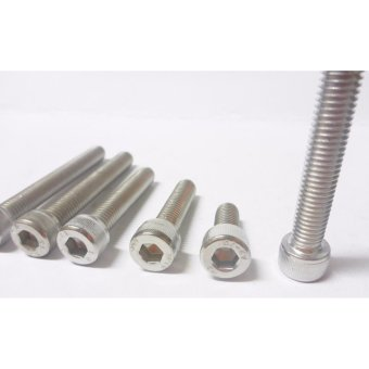 Harga ZZ Racing Stainless Allen bolt(M6x20mm)10pcs
