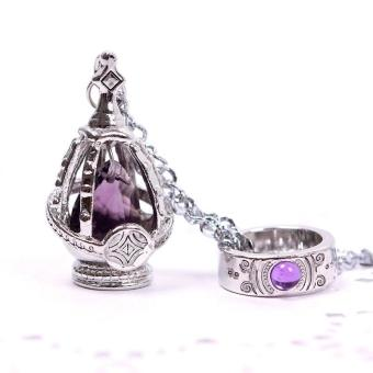 BUYINCOINS New Puella Magi Madoka Magica Soul Gem Necklace + Ring Cosplay Set 5 Color Price Philippines