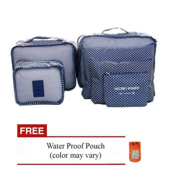 Harga Bags in Bag 6 in 1 (Navy Blue) with Free Waterproof Pouch (Color May Vary)