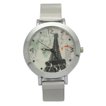 Timeless Manila Women's Silver Mesh Metal Strap Watch Price Philippines