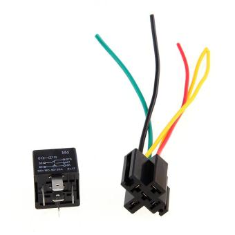 WiseBuy 5x 12V Volt SPDT Relay + Wire Socket Car Automotive Alarm 40 AMP 30/40A Price Philippines