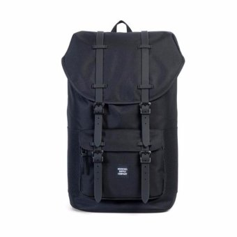 Herschel Supply Co. Little America Backpack (Black Ballistic/Rubber) Price Philippines