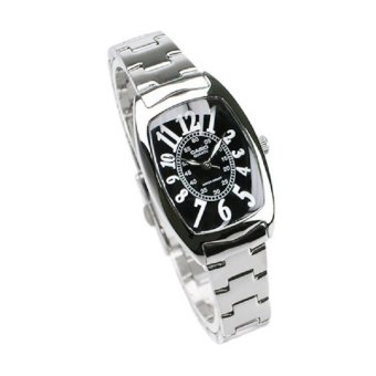 Harga Casio General Ladies Metal Fashion Black Dial Watch LTP-1208D-1BDF