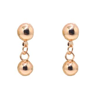 Harga Piedras jewelry 18 k micron plating drop earring