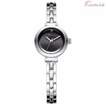 Harga Kimio Stainless Steel Strap Women's Watch K6145S (Silver/Black)