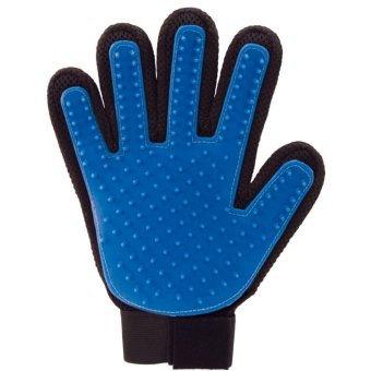 Ichic Five Finger Deshedding Glove Gentle Efficient Pet Grooming Tool for Cat & Dog Right Handed - intl Price Philippines