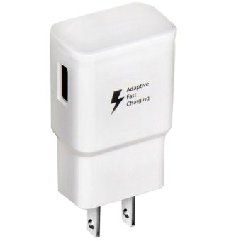 Harga Adaptive Fast Charger USB Wall Charger (White)