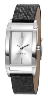 Harga Esprit Helena Black Leather Strap Watch Ees107812001