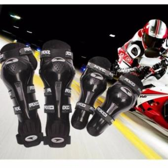Axo Motorcycle Racing Riding Knee & Elbow Guard Pads protector Gear(BLACK) Price Philippines