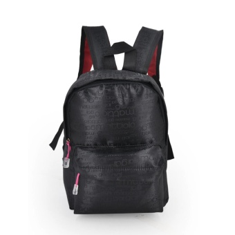 Harga Happy Kids CRL-05 Kids School Bag Backpack (Black/Pink)