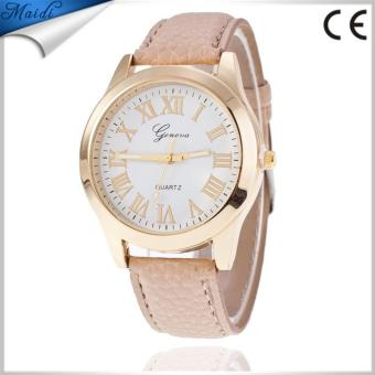 Women Geneva Ladies Wristwatch Quartz Roman Numerals Price Philippines