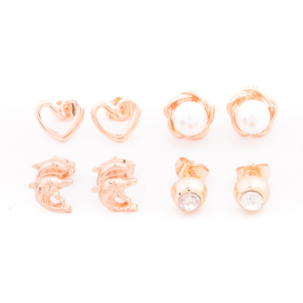 Harga Piedras Paug41 Earrings (Gold)