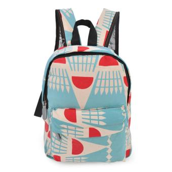 Happy Kids CRL-03 Kids School Bag Backpack (Caramel/Torquoise) Price Philippines