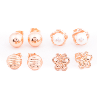 Harga Piedras Paug39 Earrings (Gold)