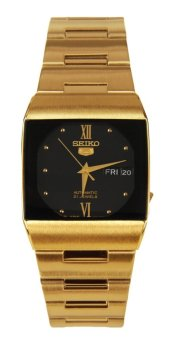 Harga Seiko Men's Gold Stainless Steel Band Watch Sny014J1