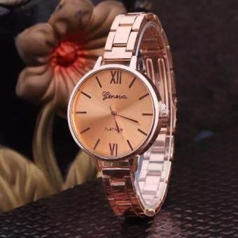 Geneva Roman Numerals Steel-belt Watch EK002 Price Philippines