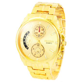 Harga Rosra Aslan Unisex Gold Stainless Steel Strap Watch