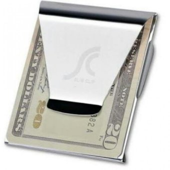 Harga Double Sided Slim Money Clip
