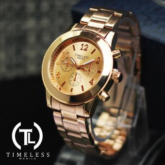 Timeless Manila Caitlyn Chrono Metal Watch (Rosegold) Price Philippines