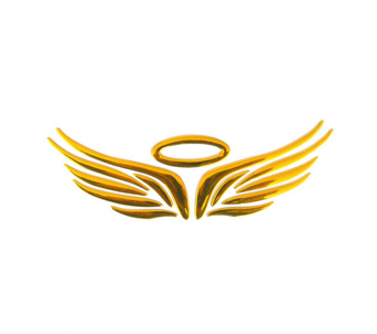 Amango 3D Angel Fairy Wings Car Decal Golden Price Philippines