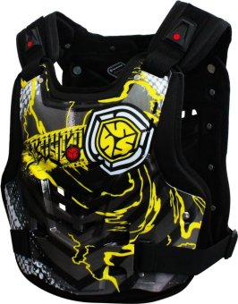 Scoyco® AM-Series AM06 Motorcycle Body Armor Touring & Motocross MX Racing (Yellow) (M) Price Philippines