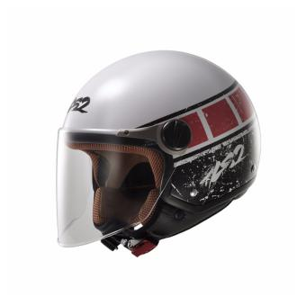 Harga LS2 Open Face OF560 Rook Helmet (White/Red)