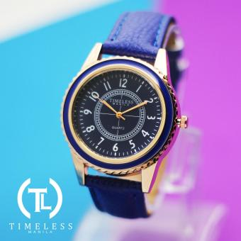 Timeless Manila Lucy Leather Watch (Blue) Price Philippines