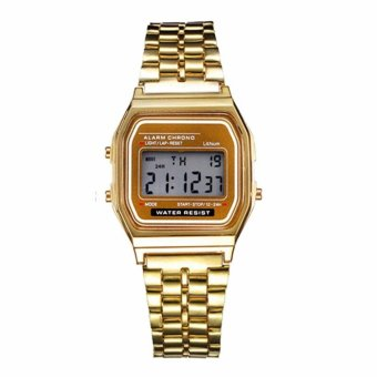 Harga Wawawei Glamorous Landfox Women's Stainless Steel Strap Watch (gold) #29329