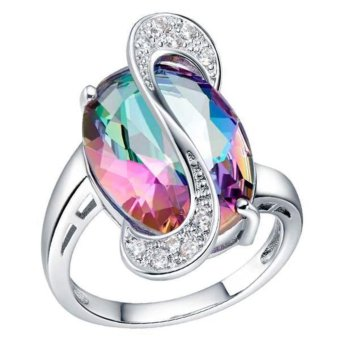 925 silver ring stone ring Gemstone Ring Jewelry - intl Price Philippines