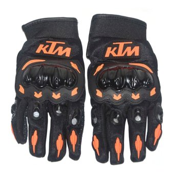 Harga KTM Motorcycle Gloves Large (Black)