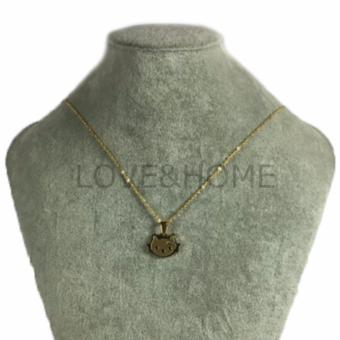 Harga LOVE&HOME Hello Kitty Chain Necklace (Gold)