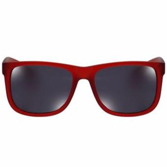 Harga Protech Polycarbonate Women's Sunglasses Shades Eyeglasses SRO113 (red)