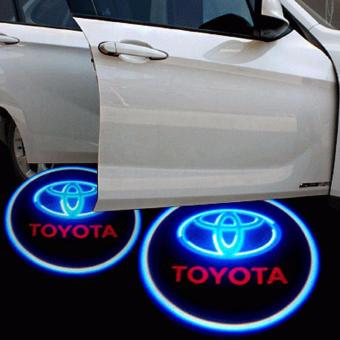 Harga 2pcs Wireless LED Door Welcome Light Logo Projector for Toyota Cars