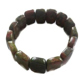 Harga Be Lucky Charms Feng Shui Oval Crystal Unakite Bracelet