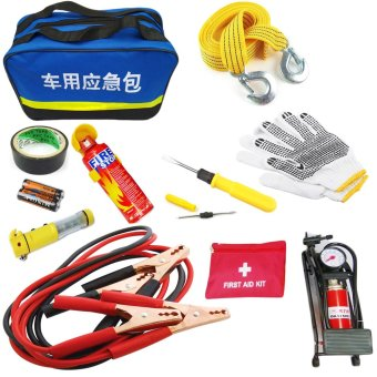 Harga Emergency And Safety Tool Kit for Driving Vehicle Rescue Package First Aid Kit