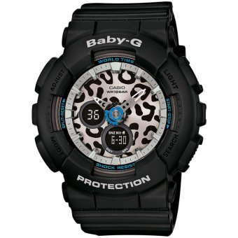 Harga Casio Baby G Black Leopard Print Series Watch BA120LP-1A