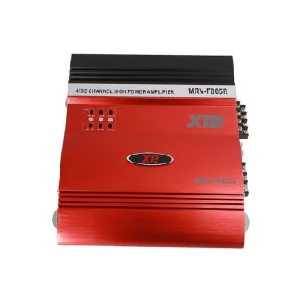Harga X12 MRV-F805R Car Amplifier ( Red )