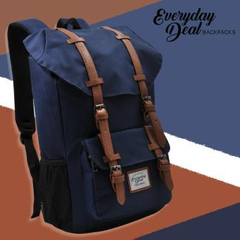 Harga Everyday Deal Travel Laptop Backpack (Navy Blue)