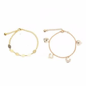 Harga Piedras European Style Two In One Bracelet