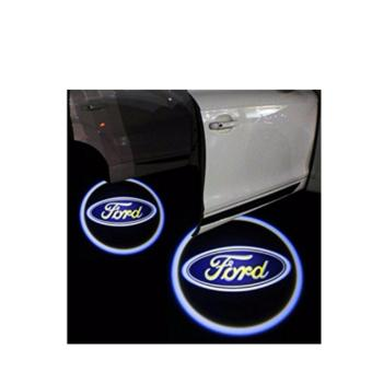 Harga 2pcs Wireless LED Door Welcome Light Logo Projector for Ford Cars