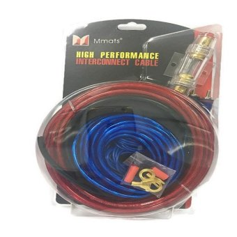 Harga Mmats PKG-66 High Performance Interconnect Cable (Red/Blue wires)