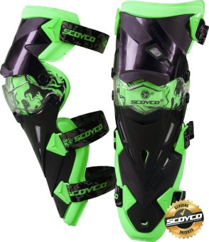 Scoyco Premium Gears K-Series K12 Motorcycle Knee Pads & Protector Guards Protector (Neon Green) Price Philippines